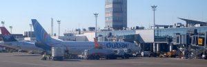 belgrad flygplats panorama 300x98 - BELGRADE, SERBIA - FEBRUARY 06: Belgrade Nikola Tesla Airport on February 06, 2016, Belgrade, Serbia